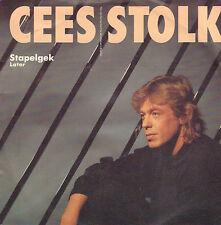 """CEES STOLK – Stapelgek / Later (1989 VINYL SINGLE 7"""")"""