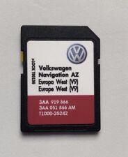 VOLKSWAGEN SKODA SEAT RNS 315 2017 Aggiornamento Mappe SD Card V9 Europa Ovest buona foruk