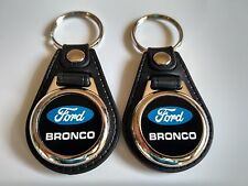 FORD BRONCO KEYCHAIN 2 PACK MIX BLUE AND WHITE