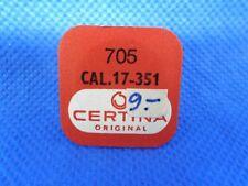 CERTINA ORIGINAL 705 CAL 17-351 Roue d'échappement Hemmungsrad Escape wheel NOS