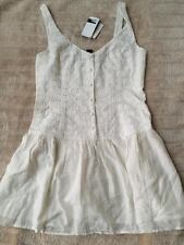 BNWT Billabong Jezabel Dress Size 14 White