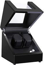 5 Rotation Modes, Mute Japanese Dual Kalawen Latest Double Watch Winder Box with