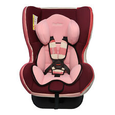 Parker Pink & Cream Child Baby Car Seat Ages 0-4 Safety Booster Seat Group 0/1