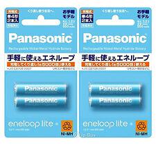 4 Eneloop Batteries 5000 Cycle 550mAh AAA Batteries Ni-MH Rechargeable Batteries