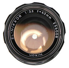Nikon EL-Nikkor 63mm f3.5   #256008