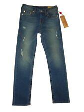 True Religion boys straight slim distressed denim Jeans size 10 nwt