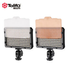 Tolifo PT-176S 11W 176 LED Video Fill Light w/Controller For DSLR Photography