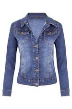 Manteaux et vestes bleu denim pour femme, taille XL