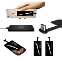 Para teléfono celular USB tipoC Universal QI cargador carga inalámbrico Receptor