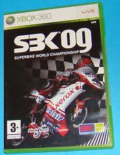 SBK 09 Superbike World Championship - Microsoft XBOX 360 - PAL