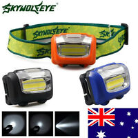 3W LED 300Lumens Mini Headlight Headlamp Flashlight Lamp Head Torch Camping