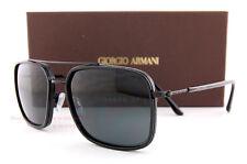 Brand New GIORGIO ARMANI Sunglasses AR 6031 3001/87  Black/Gray Men