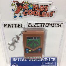 Mattel Classic Retro Baseball Super World's Coolest Electronic Key Chain Games