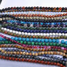 New Natural Gemstone Round Spacer Loose Beads Multi Color 4mm 6mm 8mm 10mm 12mm