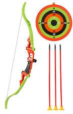 Spielzeug Pfeil Bogen Zielscheibe Set für Kinder z.B. Sport, Cowboy, Indianer