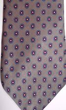 "Daks Men's Silk Tie 56"" X 3.5"" Multiple Color Geometric"