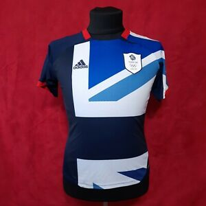 Adidas Olympics London 2012 Team GB shirt jersey Size 13-14Y L