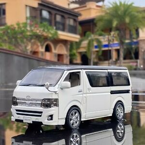 New 1: 32 Toyota HIACE High Simulation Diecast Model Toy Van Gift For Kids