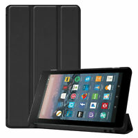 Smart Cover für Amazon Fire 7 2017/2019 Tablet Schutzhülle Case Tasche Hülle