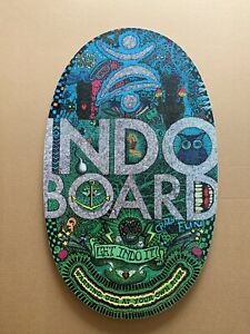 INDO Board Balance Trainer Doodle Graphic BOARD ONLY