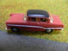 1/87 Brekina Opel Rekord P1 Limousine rostrot/schwarz 20051