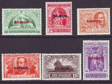 Samoa 1920 SC 136-141 MH Set Victory