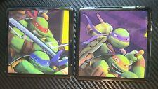 Set of 2 Ninja Turtle Drink Coasters