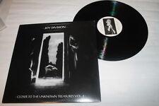 """JOY DIVISION """"CLOSER THE UNKNOWN TREASURES VOL. 2"""" - 2011 - SALES IN MEXICO LP"""