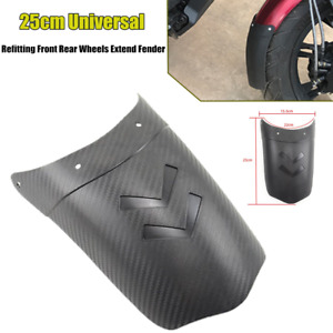 Front/Rear Wheels Motorcycle Extend Mudguard Tire Cover Fender Splash Sand Guard