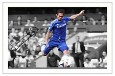 FRANK LAMPARD CHELSEA SIGNED PHOTO AUTOGRAPH PRINT 2013/14 SOCCER