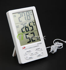 Indoor/ Outdoor Digital LCD Thermometer Temperature Hygrometer Humidity Meter US
