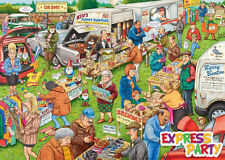 Best Of British - The Car Boot Sale 1000 Piece Ravensburger Jigsaw Puzzle