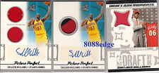 (3)2006-07 TOPPS BIG GAME RC AUTO PATCH JERSEY: SHELDEN WILLIAMS #/25 3 CARD LOT