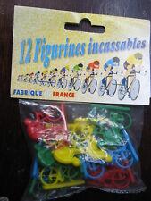 1/43 CYCLISTE SACHET DE 12 CYCLISTES  TOUR DE FRANCE  VELO