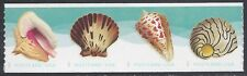 #5167-5170 (34c Forever) Postcard Rate Seashells Coil Strip of 4 2017 Mint NH