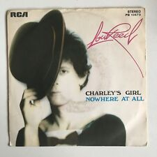 "LOU REED Charleys Girl/Nowhere At All 7"" 1976 RCA ORIG ITALIAN PRESS pic sleeve"