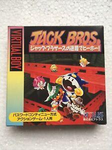 Jack Bros (Brand New) Nintendo Virtual Boy (Atlus)
