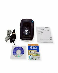 Brother QL-710W Wireless Label Thermal Printer w/ Manual & Driver/Install Disc