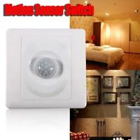 Infrared IR Body Motion Sensor Switch Automatic Wall Mount Light Control 220V