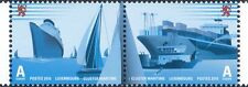 Luxembourg 2010 Liner/Container Ships/Yachts/Boats/Transport 2v s-t pr (lu10141)