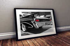 1959 Pontiac Catalina - 50's Americana 24x36 HD Classic Car Poster Print