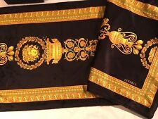 $500 VERSACE MEDUSA TABLE RUNNER COVER CLOTH GORGONA NEW In Bag WEDDING GIFT
