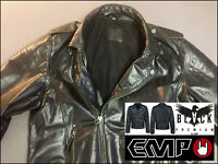 EMP® Black Premium The Road Crew Lederjacke Bikerjacke Motorradjacke SKULL • XXL