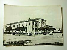 CARTOLINA CHIONS DEL FRIULI PORDENONE SCUOLE 1950C