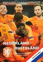 NETHERLANDS V GERMANY 2018/19
