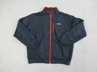 Nike Jacket Adult Extra Large Black Red Athletic Department Swoosh Coat Mens 90s