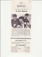 Writ-Milwaukee, Wi-Original Top 40 Radio Station Music Survey-August 23, 1964