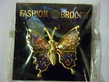 Brooch New Butterfly