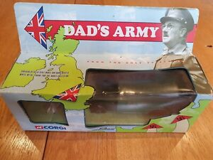 Corgi 18501 Dad's Army Bedford O Series Van With Hodges Figure All Complete