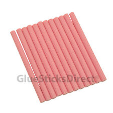 "Pink Faux Wax Glue Stick mini X 4"" 12 sticks"